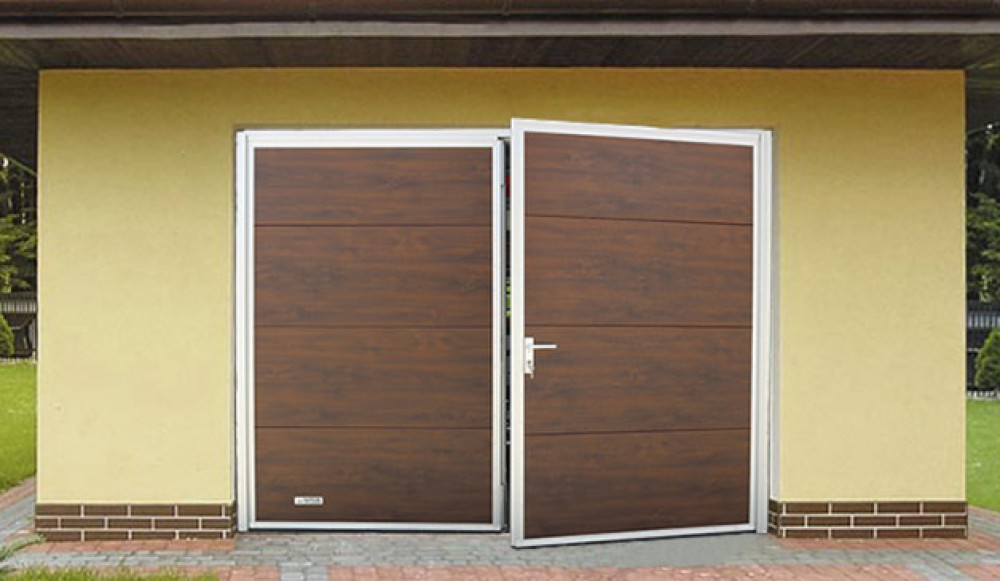 garážová brána 2-krídlová